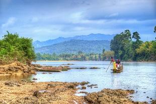 RATANAKIRI - Rivière Sesan Circuit splendeur du Cambodge