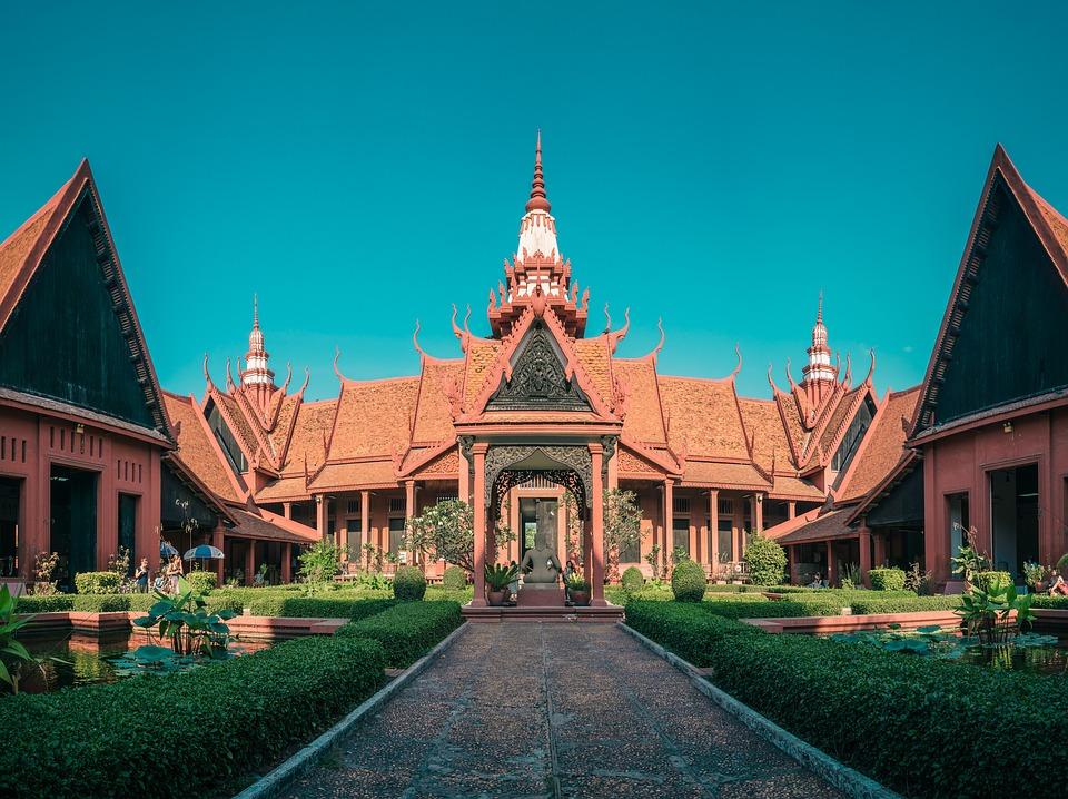 Palais de Penom Phen au Cambodge